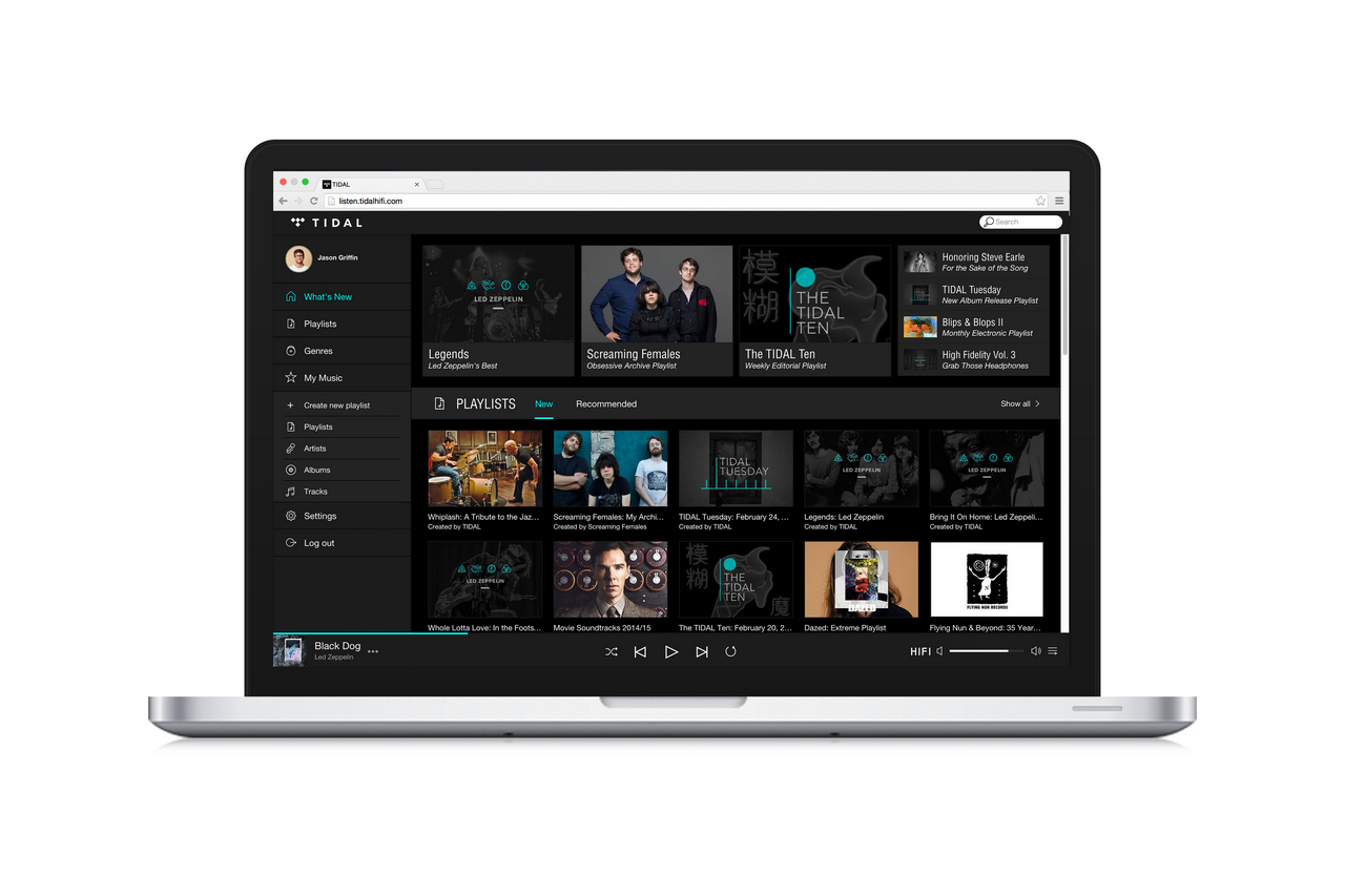 TIDAL Browse - High Fidelity Music Streaming